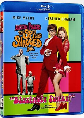 NEW BLU RAY - AUSTIN POWERS THE SPY WHO SHAGGED ME - Mike Myers, Heather Graham