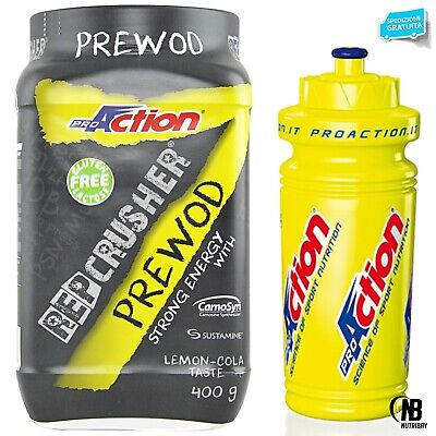 Proaction Rep Crusher 400 gr Pre Wod  Workout Completo Crossfit + BORRACCIA