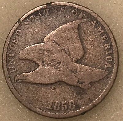 1858 Small Letter * Flying Eagle