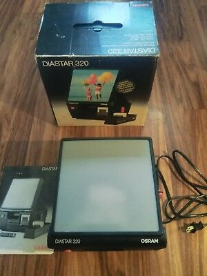 Osram Diastar 320 slide viewer
