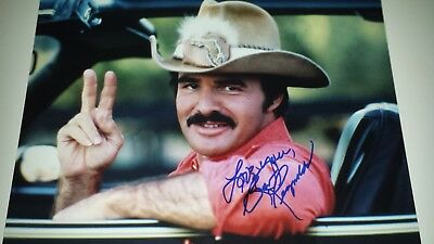BURT REYNOLDS AUTOGRAPH SIGNED 11x14 PHOTO AUTO AUTHENTIC SMOKEY AND THE BANDIT