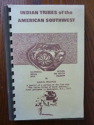 Indian Tribes of the American Southwest by John R Swanton (paperback, 1965)