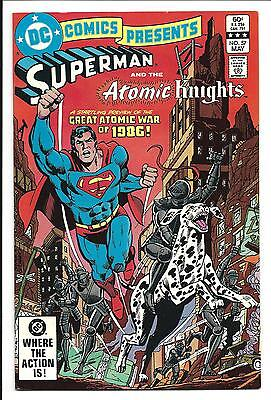 DC COMICS PRESENTS # 57 (Superman and the Atomic Knights, MAY 1983), VF/NM