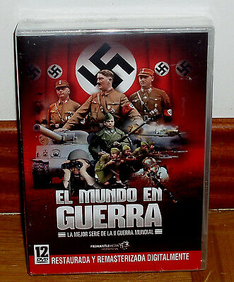 The World In War Series Complete 12 Discs Dvd New Sealed Restored (R2)