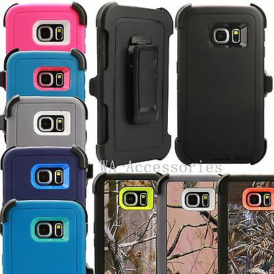 Case For Samsung Galaxy Regular S6 With (Clip Fits For OtterBox Defender Series)