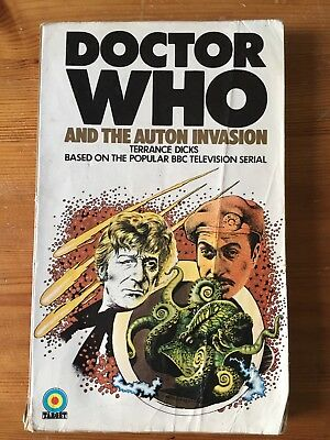 Doctor Who And The Auton Invasion - 1st edition - Target 6 READING COPY
