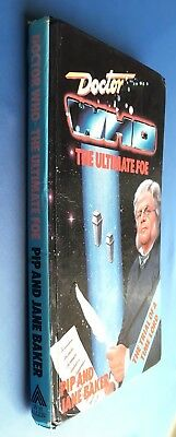 Doctor Who - The Ultimate Foe - W H Allen Hardback Hardcover EX-LIBRIS