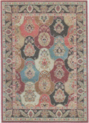 """1:48 Scale Dollhouse Area Rug 0001967 - approximately 2"""" x 2-7/8"""""""