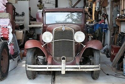 Chevrolet: Coupe 1931 CHEVROLET 5 WINDOW COUPE