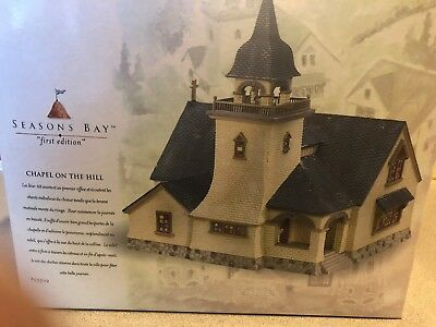 DEPT 56 SEASONS BAY *CHAPEL ON THE HILL* 53302 RETIRED new