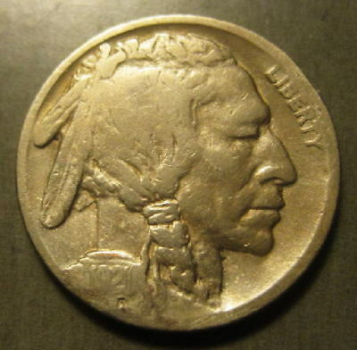1921-S  Buffalo Nickel - KEY!   0904