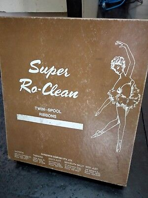 super ro-clean twin spool type writer ribbons