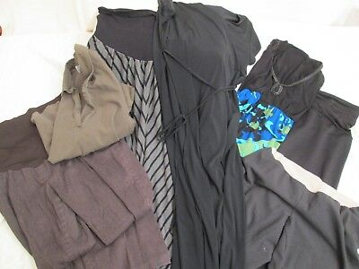 7 PC Lot Casual Dressy Maternity Womens Tops Pants Dress skirt Fall Winter L/XL