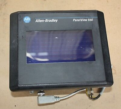 Allen Bradley HMI PanelView 550 2711-T5A15L1 Ser B Rev B TOUCH DISPLAY SCREEN