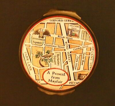 "Halcyon Days Enamels England ""Mayfair"" from the Brooks Street Collection"