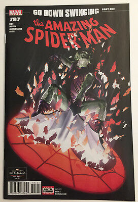 AMAZING SPIDER-MAN #797 & #798 Alex Ross Covers! - 1ST RED GOBLIN!! - NM!!
