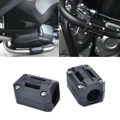 Motorcycle Engine Guard Accessories Body Frame Rack Protector Sleeve Block 2x