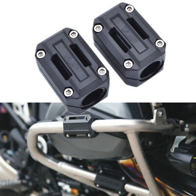 Universal Motorcycle Engine Guard Protection Frame Pads Ground Slider 22/25/28mm