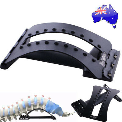 Magic Back Support Stretcher Extender Massager Trigger Point Pain Reliever AU