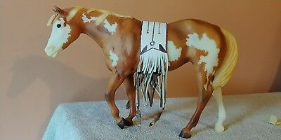Breyer 710402, High Sierra, 2002 BreyerFest Special Indian Pony, 1300 Made, NICE