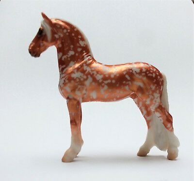 Breyer Django Mystery Horse Surprise Copper Filigree Florentine Stablemate SM