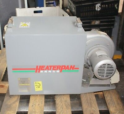 SOK HEATERPAN HKO-100E4 400V 3 phase 10kW 0S-2808 INDUSTRIAL AIR HEATER BLOWER