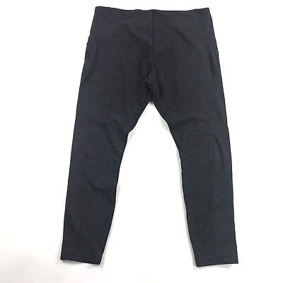 Lysse Ella Womens Leggings Sz XL Charcoal Tummy Control