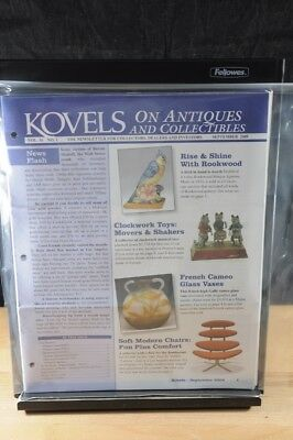 Lot of 12 Kovels On Antiques & Collectibles Magazines Sept 2009 - August 2010