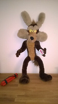Wile E Coyote stuffed plush 80cm Warner Brothers play by play Plüschtier