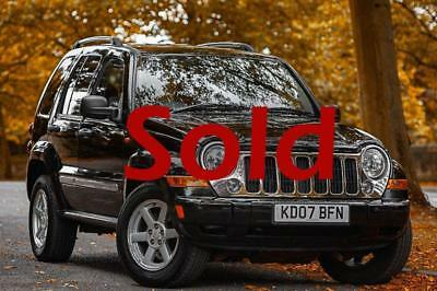 Jeep Cherokee CRD LIMITED 4x4 Four Wheel Drive Low Mileage 58k