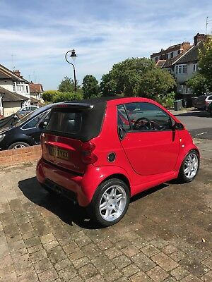 smart car brabus red edition