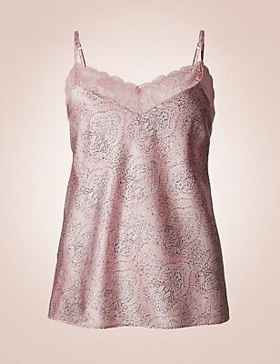 addffed2c56 M6 M s Rosie For Autograph Oyster Floral Silk Lace Teddy Playsuit 16 Bnwt  41