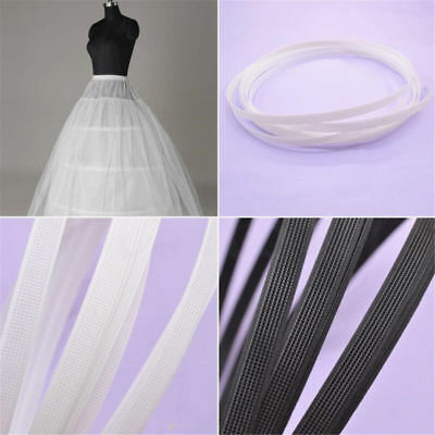 5/10 Yard Covered Plastic Boning For Wedding Swimwear Dress Support DIY Sewing