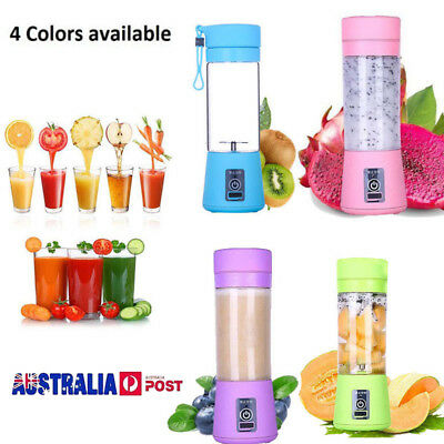 2018 New BlendJet One The Ultimate Portable Blender rechargeable Electric AU