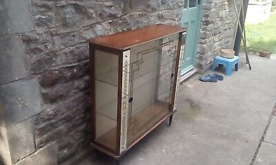 Lovely Art Deco partially mirrored cocktail/drinks cabinet