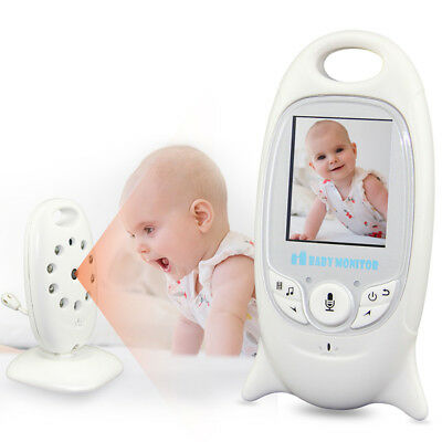 """2"""" Baby Monitor 2.4GHz LCD Audio Talk Night Vision Wireless Digital Video Safety"""