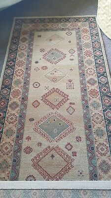 new royal keshan 100% wool rug..9ft length and 2ft3 width..made in Belgium.