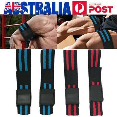 AU Occlusion Training Bands Blood Flow Restriction Training Wraps Gym Fitness