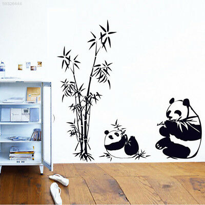 529B Third Generations Removable Panda wall Stickers Larger Size Decal Bedroom
