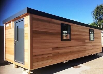 32' x 10' New Cedar Clad Portable Building from £14,485.00 + VAT