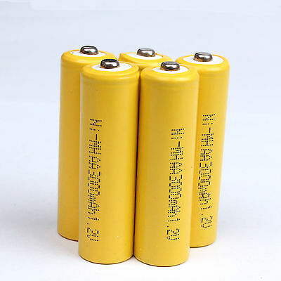 1~36 PCS AA 3000mAh 1.2V Ni-MH Rechargeable Battery for Cell MP3 RC Toys Yellow