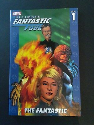 ultimate fantastic four the fantastic vol 1 paperback new