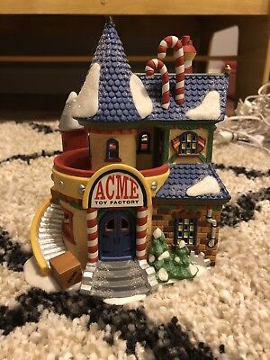 Dept 56 ACME Toy Factory No Box Or Characters