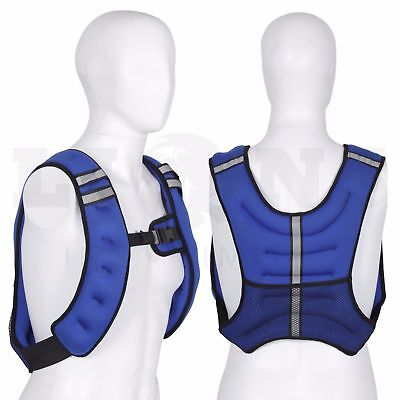 WEIGHTED VEST JACKET Fitness Exercise Resistance Training Gym