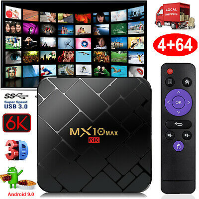 H96MAX+4+64G RK3328 Android 8.1.0 Oreo Smart TV BOX Quad Core USB3.0 4K 3D HDR10