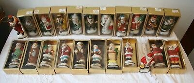 Memories of Santa Collection Christmas Tree Ornament 1867-1940 Lot of 22