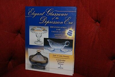 Elegant Glassware of the Depression Era 11th Ed. 2005 Value Guide Book--New HB