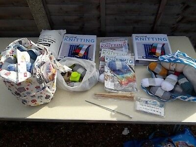 The Art of Knitting collection/joblot