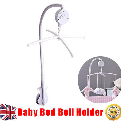 Baby Mobile Bed Bell Holder Crib Toy Arm Bracket Wind Up Music Box DIY Hanging