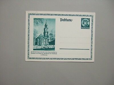 Germany 1933 mint postal stationery w/CHURCH picture